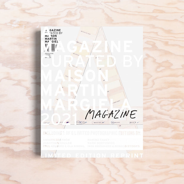 A Magazine Curated By Maison Martin Margiela (Special Edition Reprint) - Print Matters!