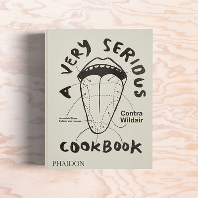 A Very Serious Cookbook - Print Matters!