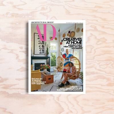 AD Architectural Digest USA – April 2021 - Print Matters!