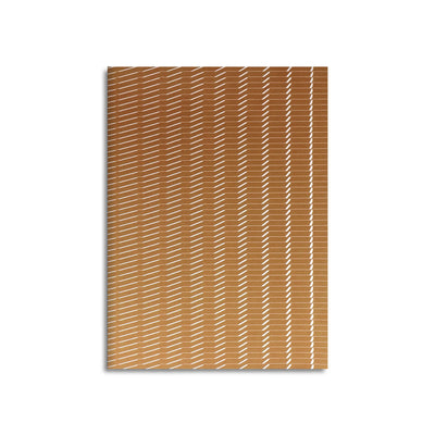 Wave-Edition N° 1 copper – Notebook - Print Matters!