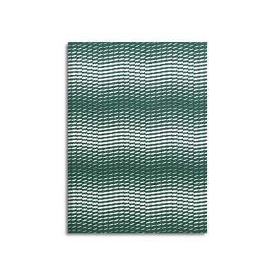 Wave-Edition N° 3 hunter green – Notebook