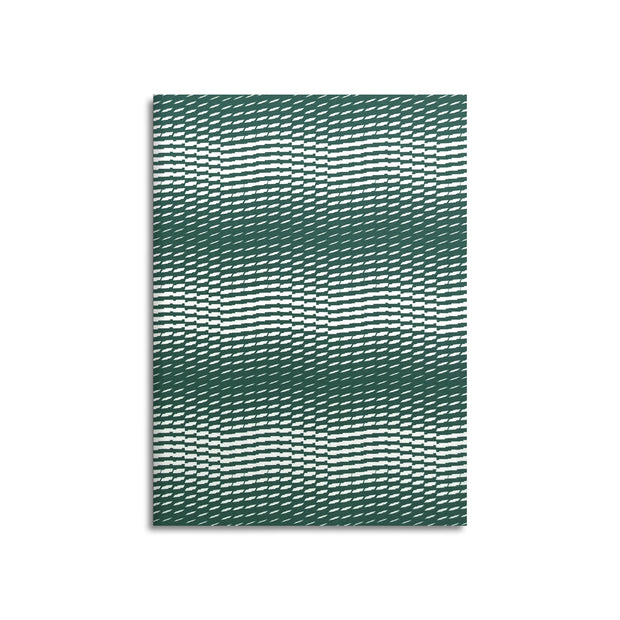 Wave-Edition N° 3 hunter green – Notebook - Print Matters!