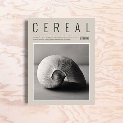 Cereal – Issue 20 - Print Matters!