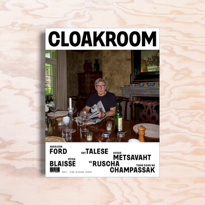 Cloakroom – Issue 1 - Print Matters!