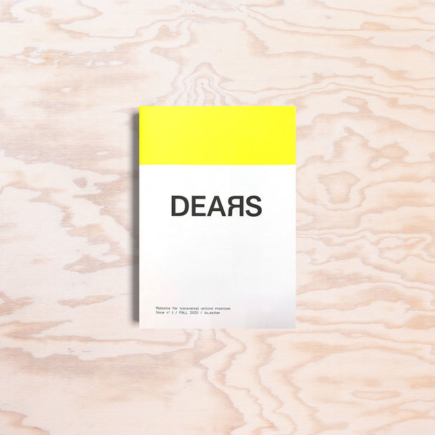 Dears – Issue 1 - Print Matters!