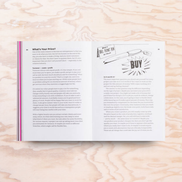 Don't Buy This Book – Entrepreneurship for Creative People - Print Matters!