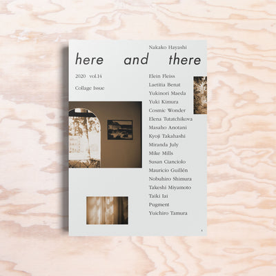 Here and There – Issue 14 - Print Matters!