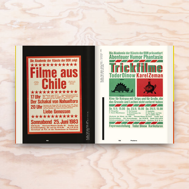 Karl-Heinz Drescher – Berlin Typo Posters, Texts and Interviews