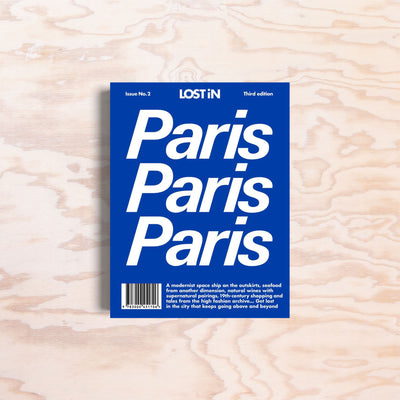 LOST iN – Paris - Print Matters!