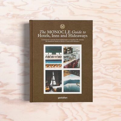 Monocle Guide to Hotels, Inss and Hideaways - Print Matters!