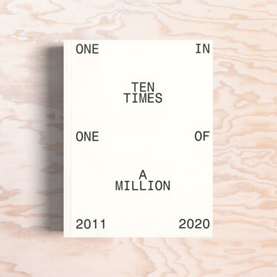 One In Ten Times One Of A Million - Print Matters!
