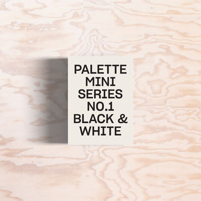 Palette mini Series No.1 – Black & White - Print Matters!