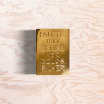 Palette mini Series No.3 – Gold & Silver