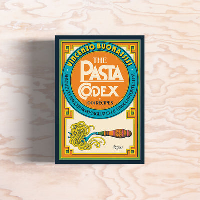 The Pasta Codex: 1001 Recipes - Print Matters!