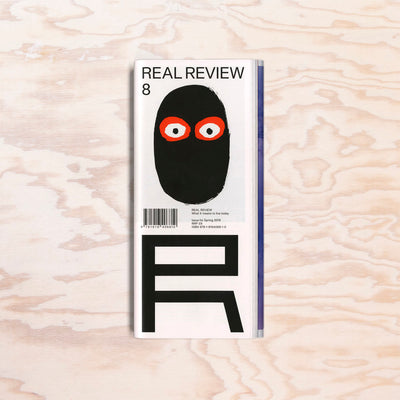 Real Review – Issue 8 - Print Matters!