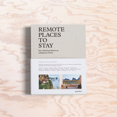 Remote Places To Stay - Print Matters!