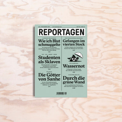 Reportagen – Issue 49 - Print Matters!