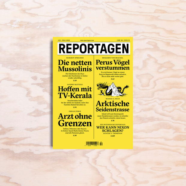 Reportagen – Issue 52 - Print Matters!