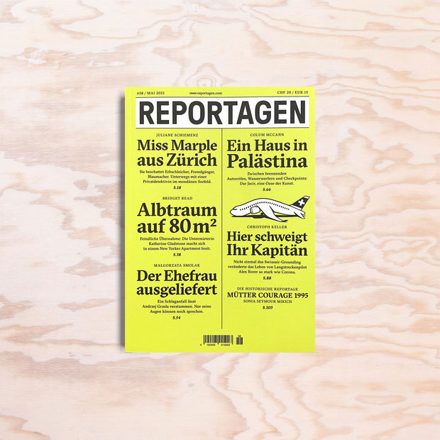 Reportagen – Issue 58 - Print Matters!