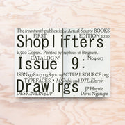 Shoplifters – Issue 9 (Drawings) - Print Matters!