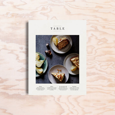 Table – Issue 3 - Print Matters!