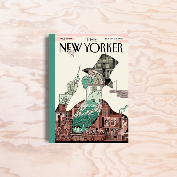 The New Yorker – Feb. 15 & 22, 2021 - Print Matters!