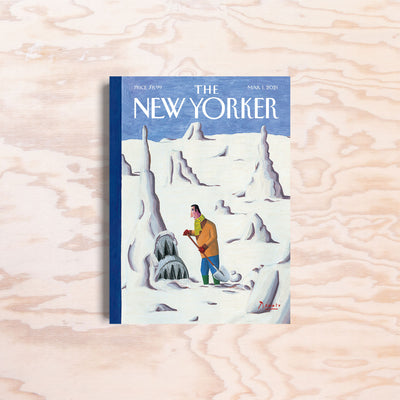 The New Yorker – Mar. 1, 2021 - Print Matters!