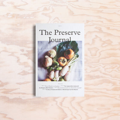 The Preserve Journal – Issue 1 - Print Matters!