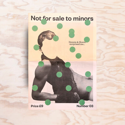 Not for sale to minors – Issue 3