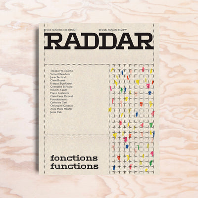 Raddar – Issue 1 - Print Matters!