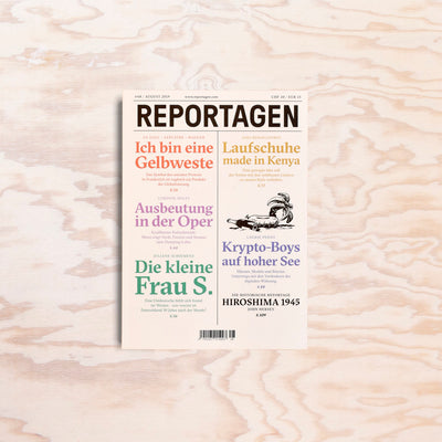 Reportagen – Issue 48 - Print Matters!