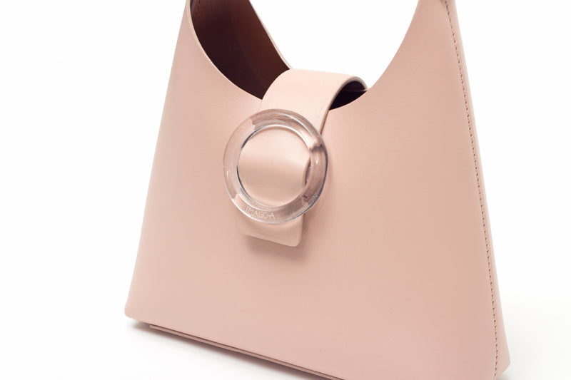 Nº44 Lucite Buckle Mini - Blush