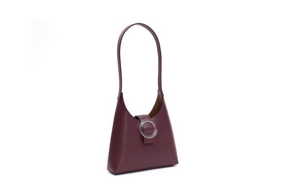 Nº44 Lucite Buckle Mini - Bordeaux