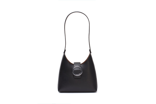 Nº44 Lucite Buckle Mini - Noir