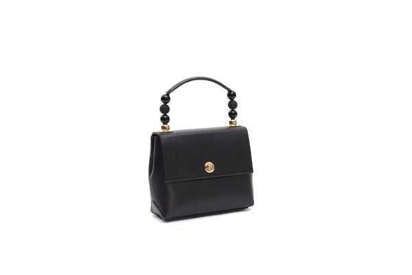 Nº48 Carré Top Handle Mini - Noir