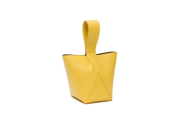 Nº49 Cross Handle Bucket - Sunflower Lizard