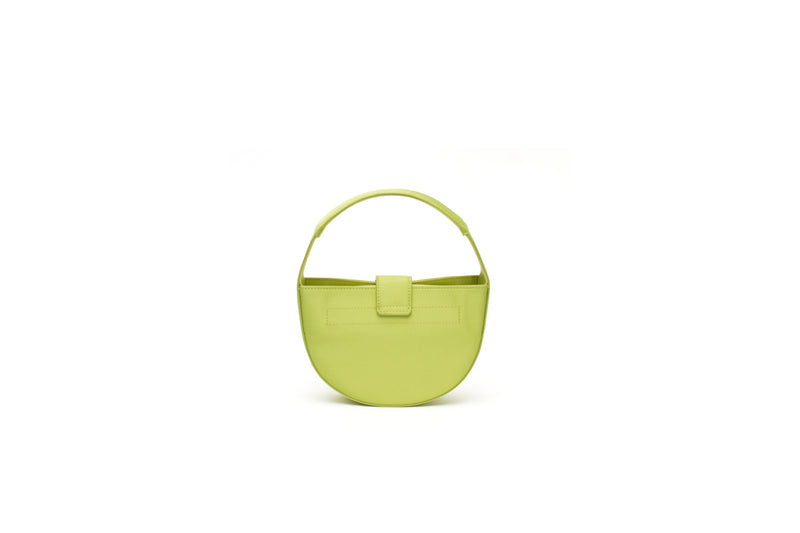 Nº52 Demi Lune Mini - Lime Satin
