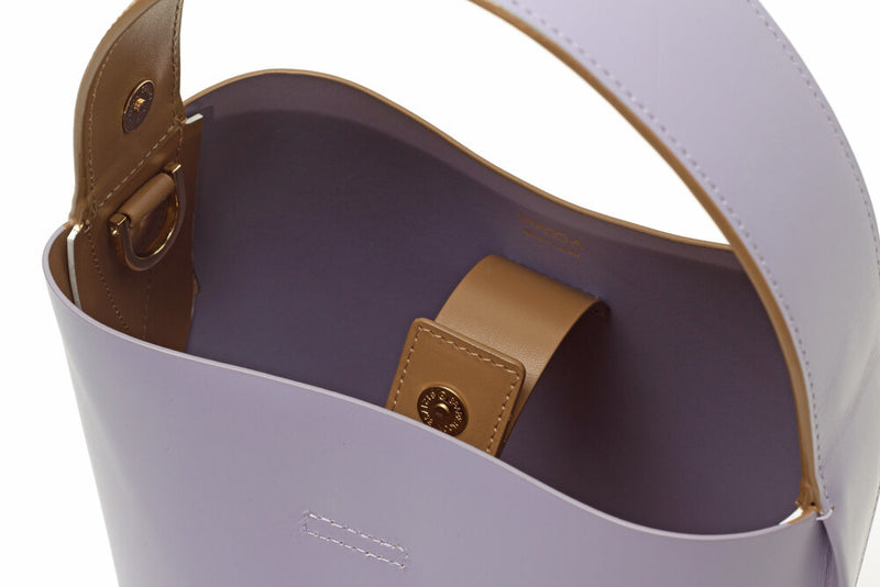 Nº49 Cross Handle Bucket - Lavender + Tan + Blanc // Web Exclusive
