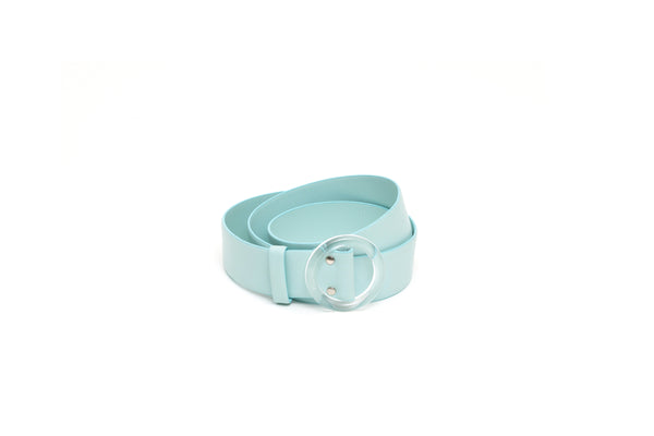 Nº46 Lucite Buckle Belt - Mist