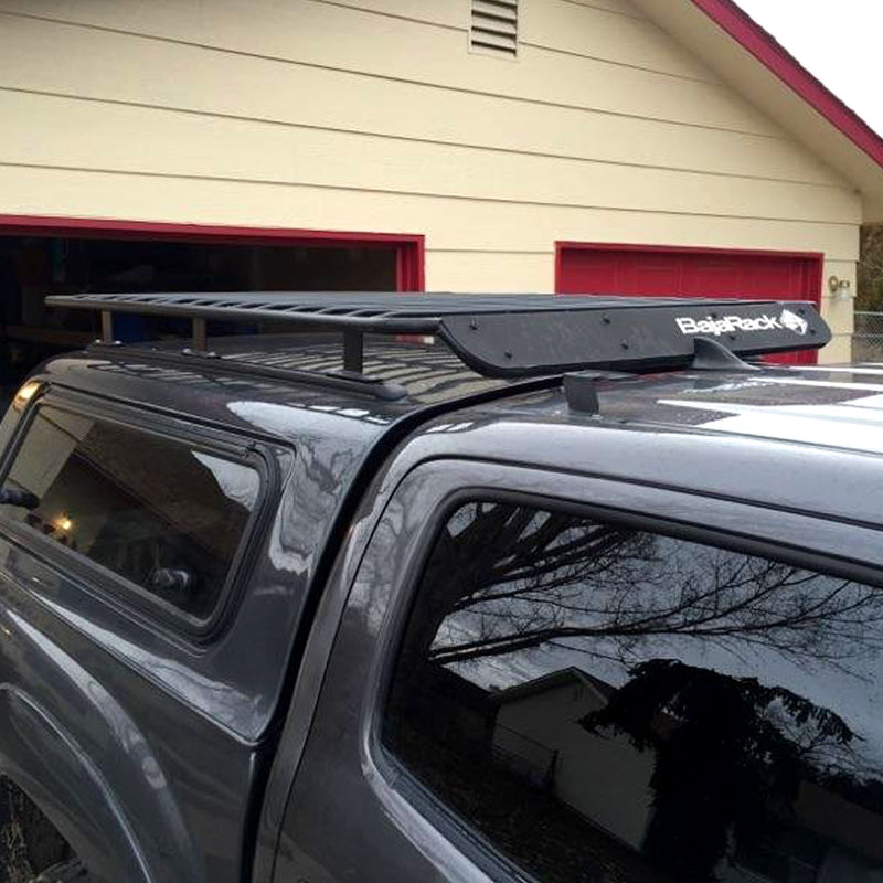 Camper Shell UTility (flat) Rack (with wind deflector)