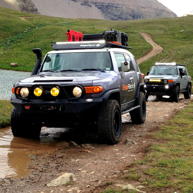 FJ Cruiser UTility (flat) Rack with SPY Light System (LED bar not included) (2007-2017)