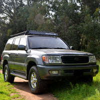 Land Cruiser 100 UTility (flat) Rack with SPY Light System (LED bar not included) (1998-2007)