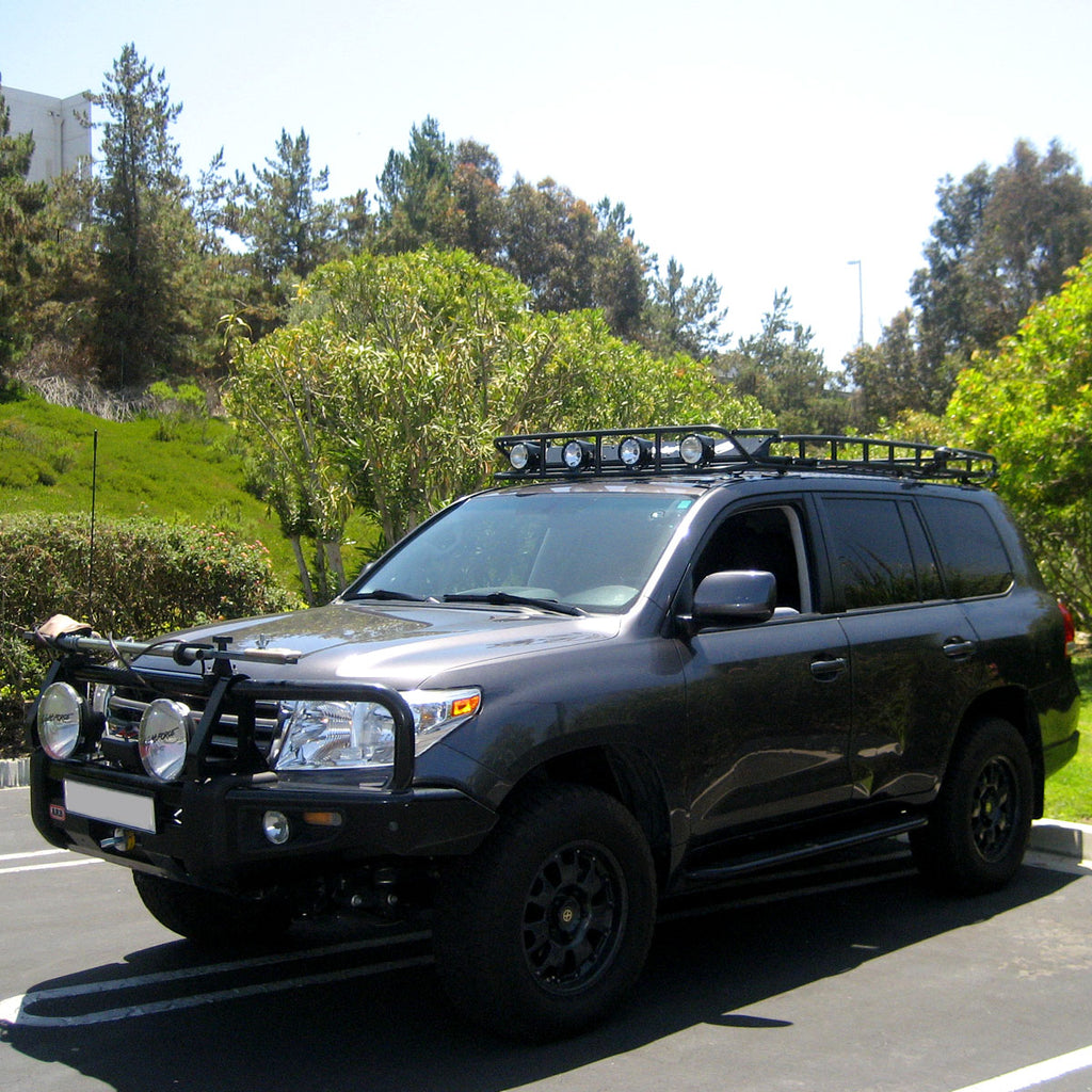 Land Cruiser 200 Roof Rack Standard Basket Rack (without sunroof cutout) (2008-2021)