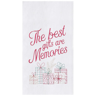 Gifts Are Memories Tea Towel