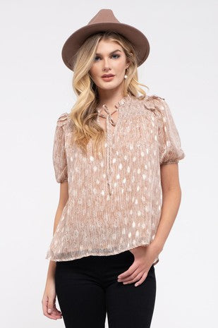 Light as a Feather Smocked Top