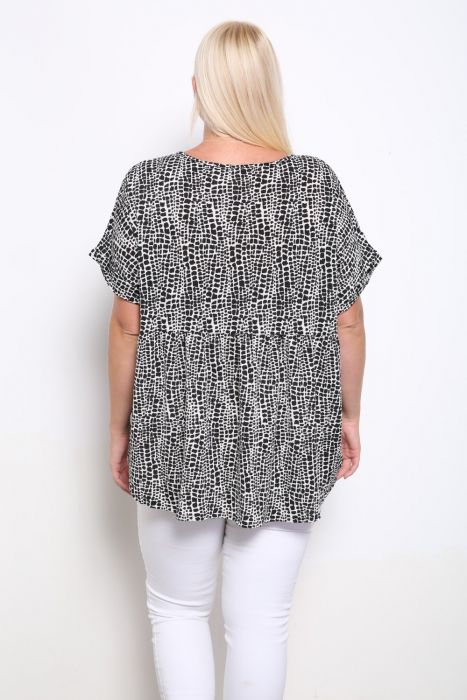 Plus Size Rhonda Dolman Sleeve Top