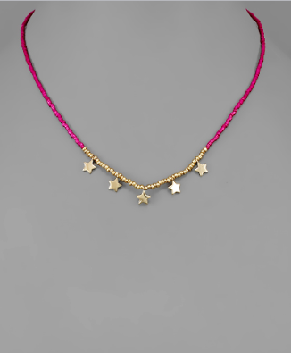 Fort McHenry Star Necklace