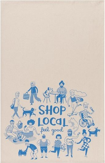 Shop Local Teatowel