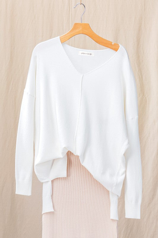 Soft Hi-Lo Sweater