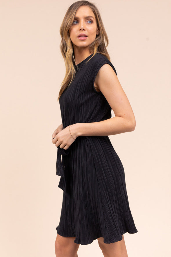 SALE Mini Pleated Dress